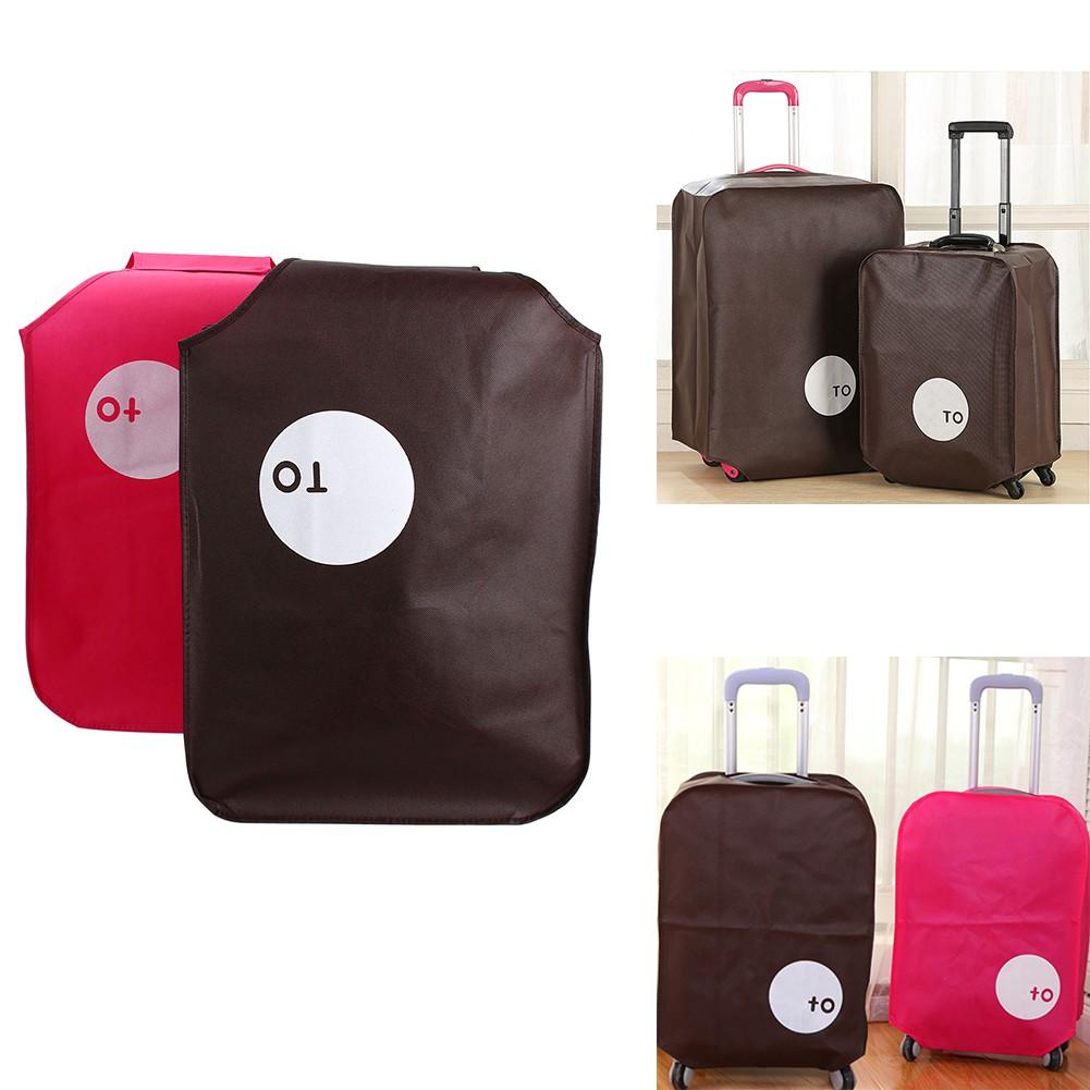 กระเป๋าเดินทางกระเป๋าเดินทางกันฝุ่น 20 นิ้ว 24