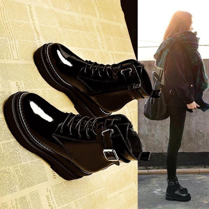 รองเท้าส้นสูง หัวแหลม ส้นเข็ม ใส่สบาย New Fshion รองเท้าคัชชูหัวแหลม  รองเท้าแฟชั่นมาร์ตินรองเท้าผู้หญิงใหม่ทั้งหมดตรงกั