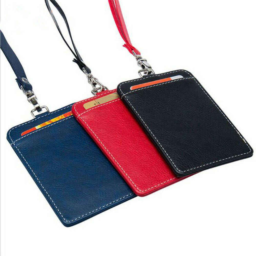 Office Supplies Business Card Case Credit Card Holder Wallet Bus Bag ID Name