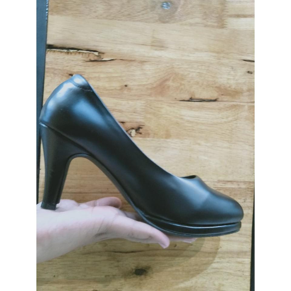 รองเท้าคัชชูสีดำ รองเท้าคัชชูนักศึกษา หัวตัด รองเท้ารับปริญญา รองเท้าถูกระเบียบ เเถมรองพื้นด้านใน