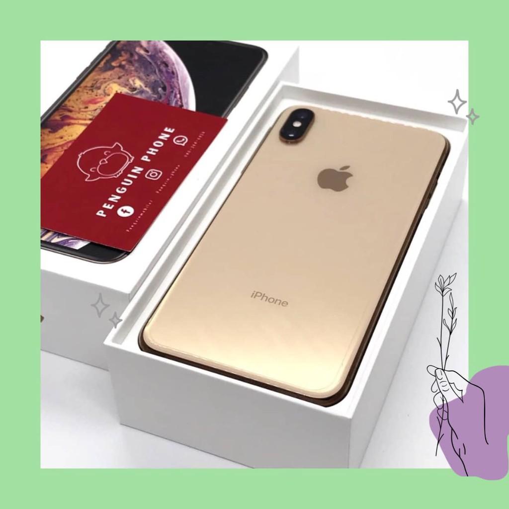 iPhone Xs Max 64GB สี Gold มือสอง สภาพ 99% [ไอโฟนมือสอง iPhoneมือสอง ไอโฟนมือ2 ไอโฟนราคาถูก โทรศัพท์มือสอง มือสอง]