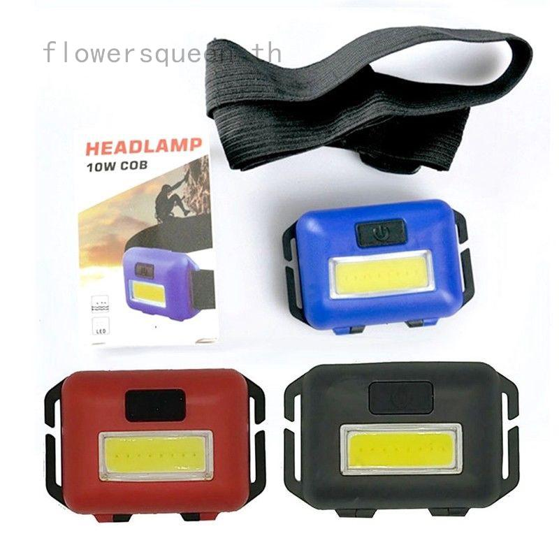 Portable Mini COB LED Round Work Light Magnetic Ultra Bright Lamp Repair Tool