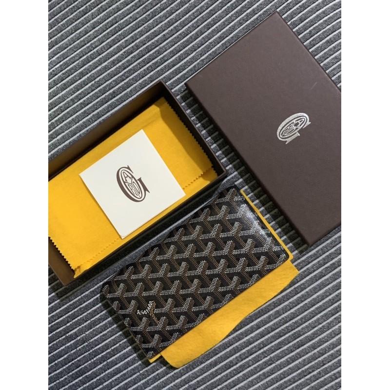 🎄SOLD🎄🤎Used🤎Goyard Bi Fold Long Wallet 8 card แท้ 💯%