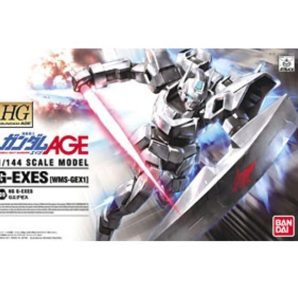 Gundam Hg Age G-exes ของเล่นสําหรับเด็ก