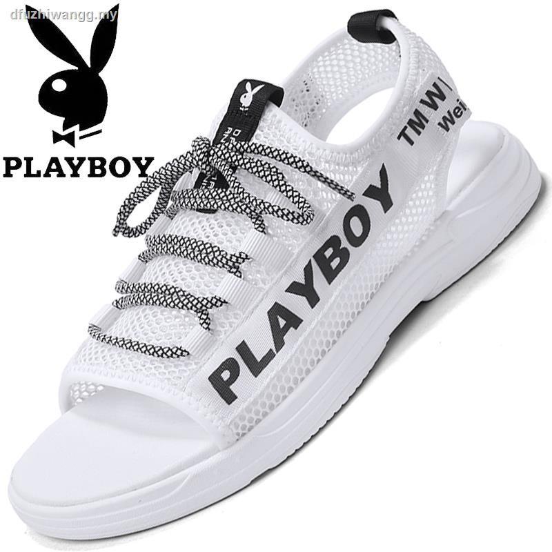 Playboy 2020 รองเท้าแตะลําลองสําหรับผู้ชายกันลื่น