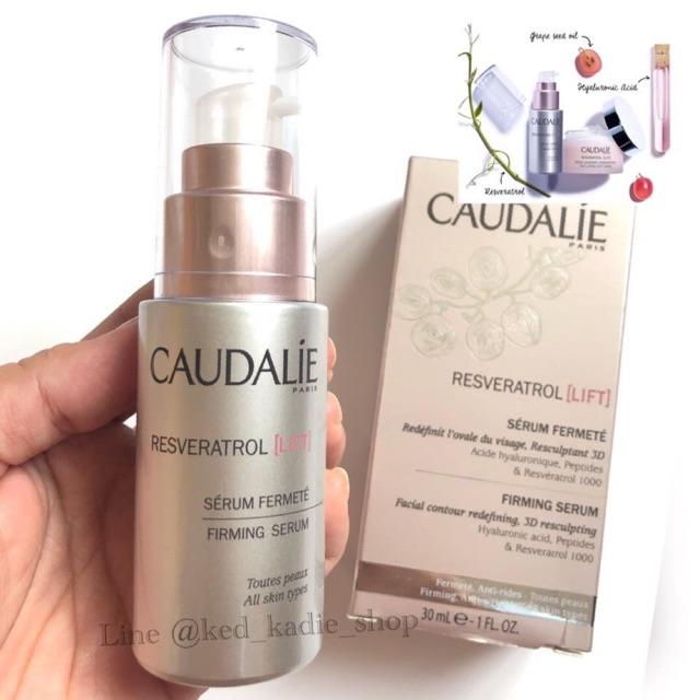 Caudalie Resveratrol Lift Firming Serum Shopee Thailand