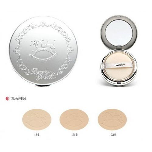 แป้งม้าโยก Beauty Credit Lovely Powder Pact Mat 13g