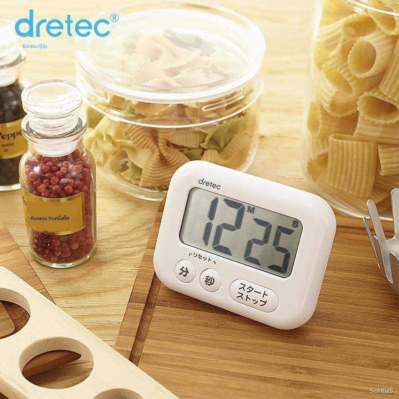 ✌dretec Doric Japan นำเข้าตัวจับเวลามินินาฬิกาจับเวลาถอยหลังเตือนครัวเรือนดีจับเวลา