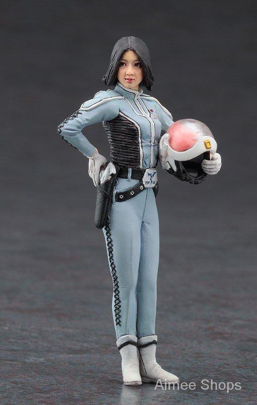 Resin Figure Kit 1/24 Female Policewoman Garage Resin Kit xNnC