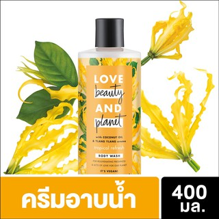Love Beauty and Planet Tropical Refresh Body Wash 400ml UNI