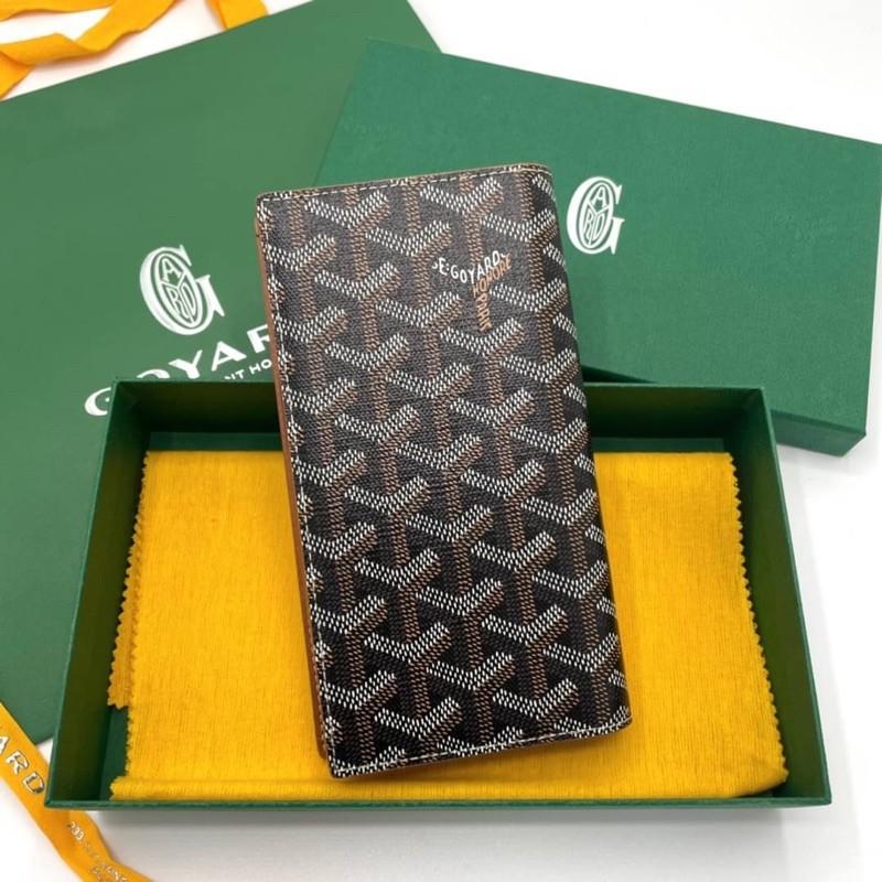 New Goyard Long Bi Fold Wallet รุ่นหนาใส่โทรศัพท์ Max ได้