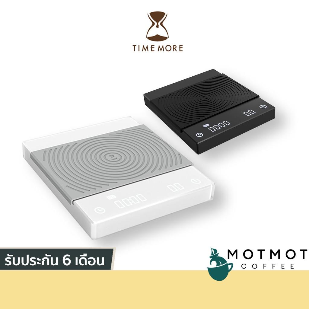 TIMEMORE Black Mirror Scale | เครื่องชั่งดิจิตอล จับเวลาได้ สำหรับทำกาแฟ