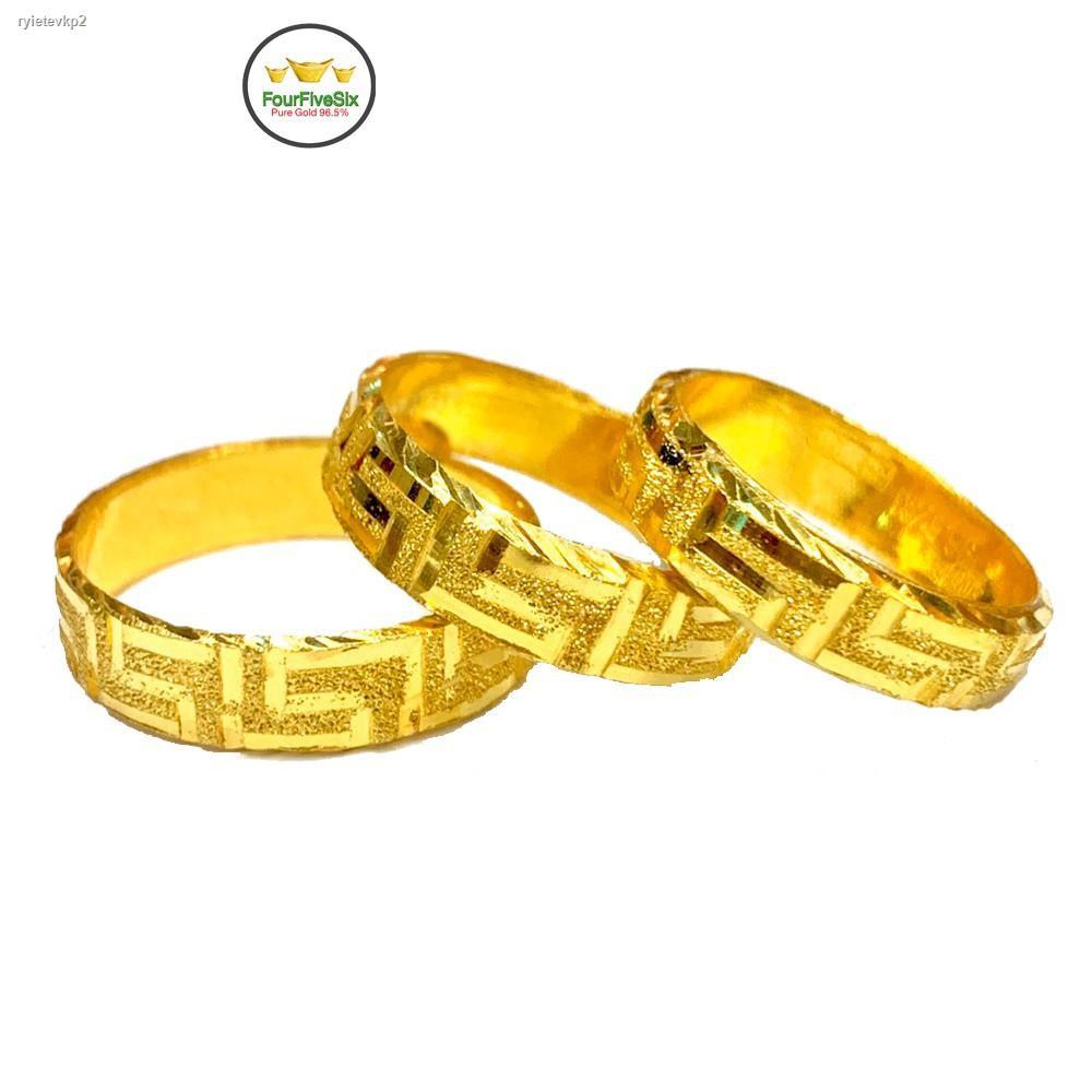 ราคาต่ำสุด●✣Flash Sale แหวนทองครึ่งสลึง รวยวนไป-สายรุ้งจีน หนัก 1.9 กรัม ทองคำแท้96.5%