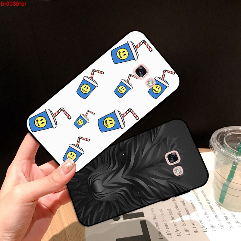Samsung A3 A5 A6 A7 A8 A9 Pro Star Plus 2015 2016 2017 2018 GSZT Pattern-5 Silicon Case Cover