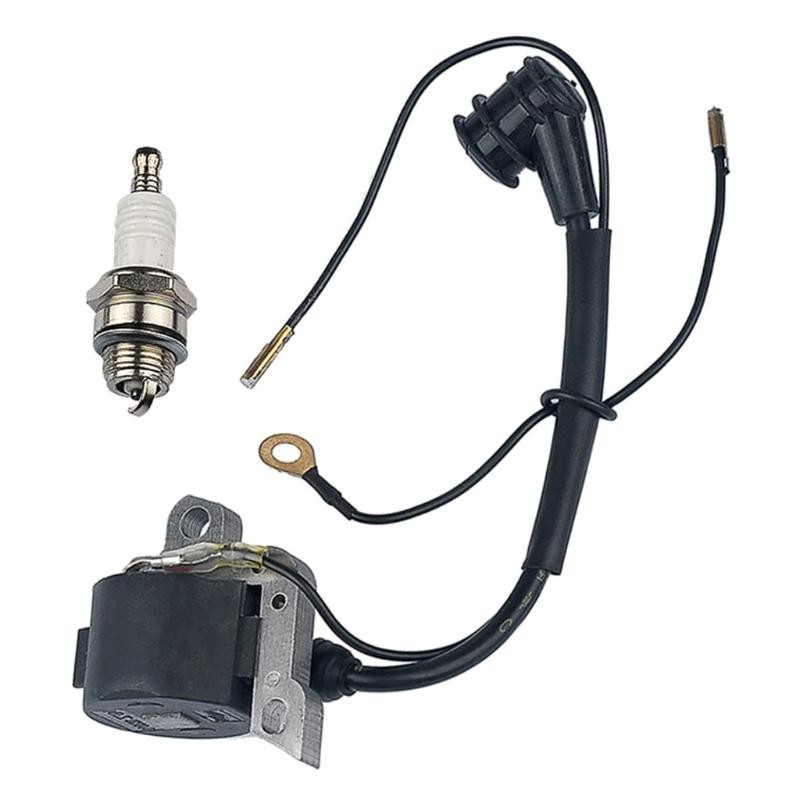 SPT Ignition Coil with Spark Plug for STIHL 024 026 028 029 034 036 038 039 044 048 MS240 MS260 MS290 MS310 MS360 MS360C MS390 MS440 MS640 Chainsaw