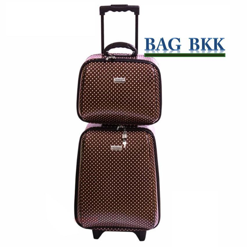 PfbV BAG BKK กระเป๋าเดินทาง Wheal ล้อลาก เซ็ทคู่ 18 นิ้ว/14 นิ้ว รุ่น F7719 -18