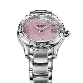 applewatch series 6◎♛Casio SHN-4019DP-4A Women's Sprinkled Bezel Metal Fashion Pink Dial Watch