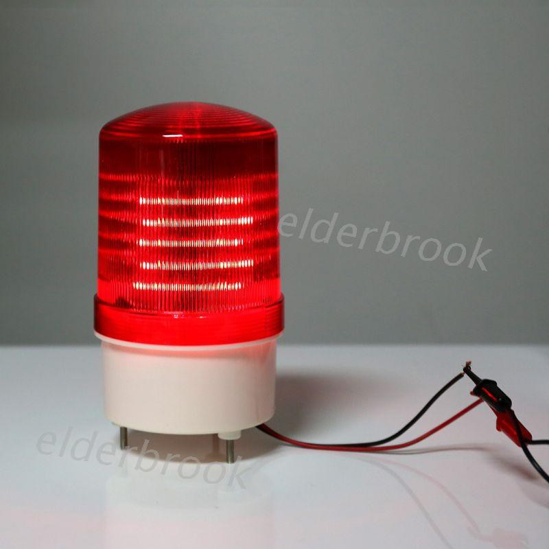 220V/12V/24V LED Alarm Light Warning Lamp Signal Buzzer Rotary Strobe Flash Siren Emergency Sound Illumination Hummer