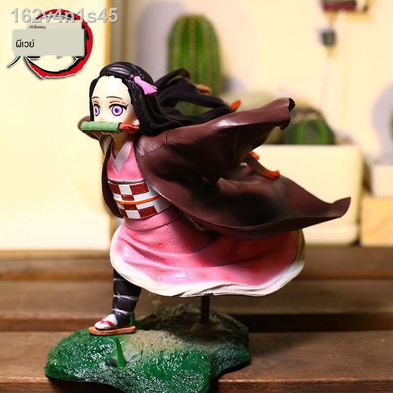♚❍Demon Slayer s Blade Anime Figure Niedou Tanjirou My Wife Zenyuzou Ping Yizhizuo Peripheral Model Ornaments