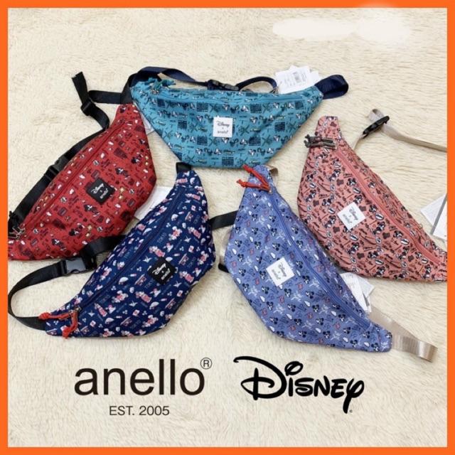 🔥ลดพิเศษ🔥กระเป๋าคาดอก Anello x Disney คาดเอว (พร้อมส่ง)