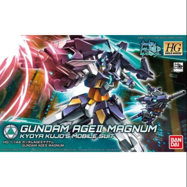 Bandai HG HGBF 1 / 144 Gundam Age II 2 Magnum
