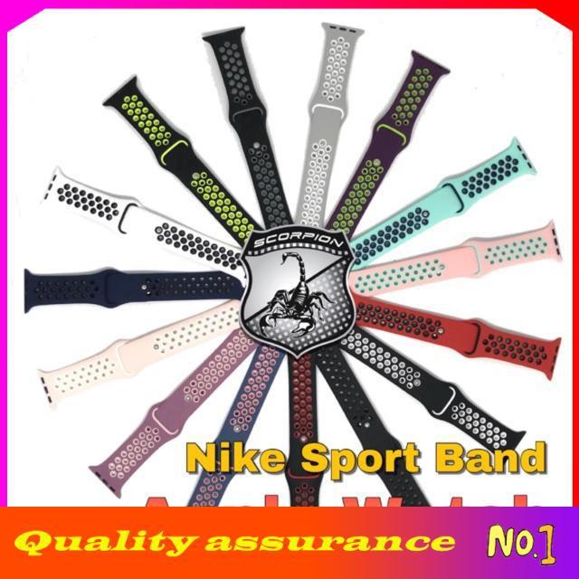 🔥พิเศษ🇹🇭 สาย Apple Watch  Sport Band for Apple Watch Series 1,2,3,4,5,6