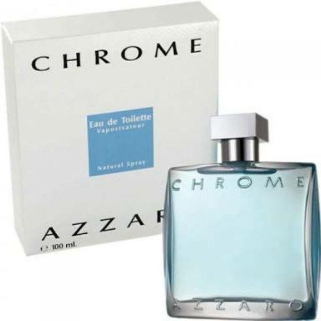 AZZARO CHROME FOR MEN EDT 100 ML