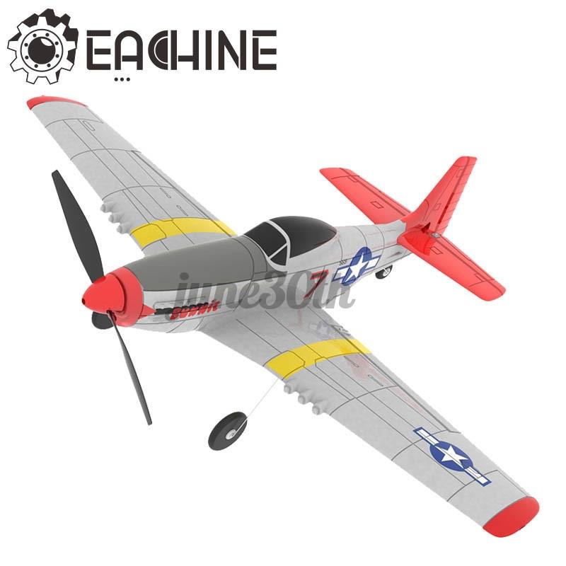 eachine mini mustang p - 51 d epp 400 มม. wingspan 2 . 4 g 6 - axis gyro เครื่องบินบังคับวิทยุของเล่นสําหรับเด็ก/ผู้ใหญ่