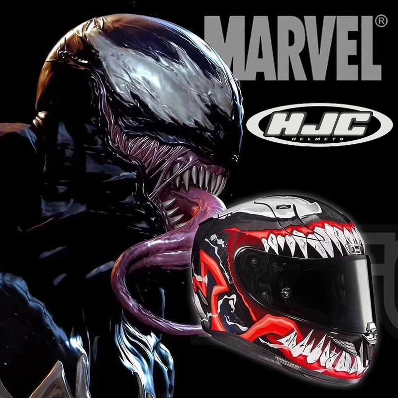 HJC Venom 2 Generation 2 Generation 3 Full Face Helmet Venom 2 Batman Captain America Sports Car Helmet Racing Helmet Fo