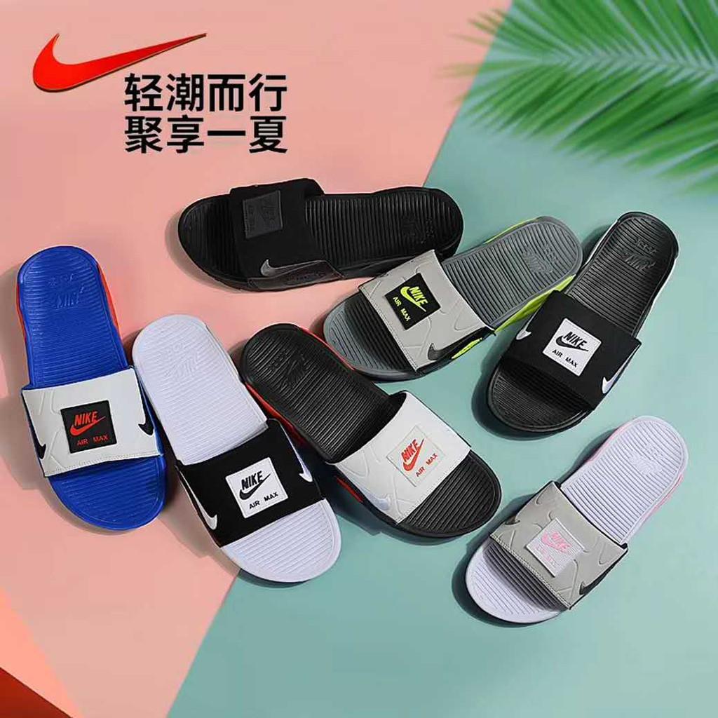 Nike Air Max 90 Slide รองเท้าผ้าใบลําลองมีระบายอากาศ