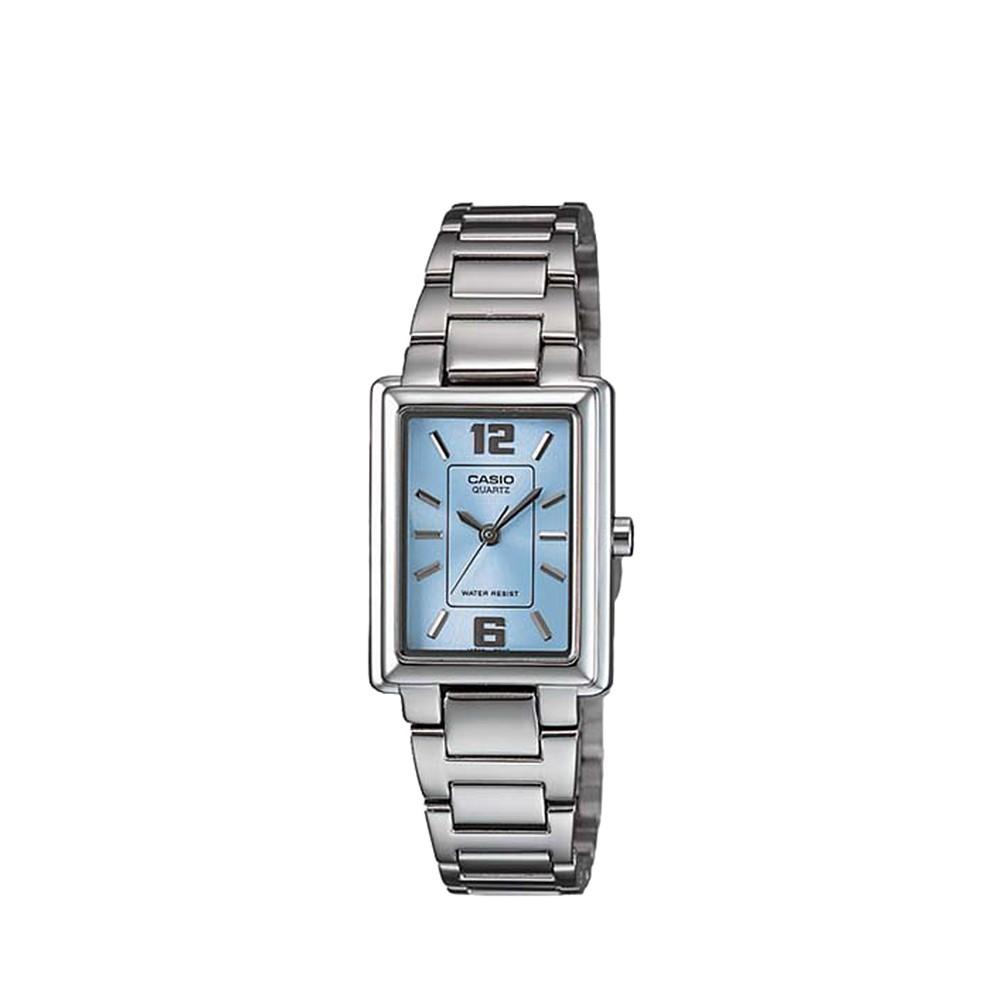 CASIO นาฬิกาข้อมือ GENERAL รุ่น LTP-1238D-2ADF นาฬิกากันน้ำ สายสแตนเลส
