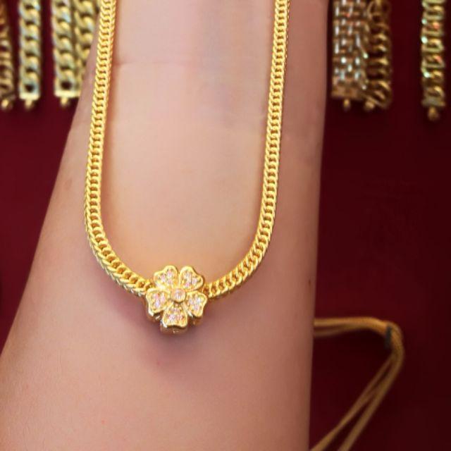 สร้อยคอทองแท้ 96.5% น้ำหนัก 1 บาท ยาว 19.5cm ราคา 29,000 บาท