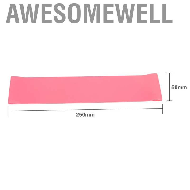 Awesomewell ห่วงยางยืดออกกําลังกาย 2 สี