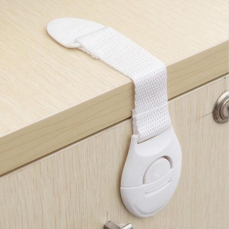 10pcs Child Baby Cupboard Cabinet Safety Locks Proofing Door Drawer Fridge Kids