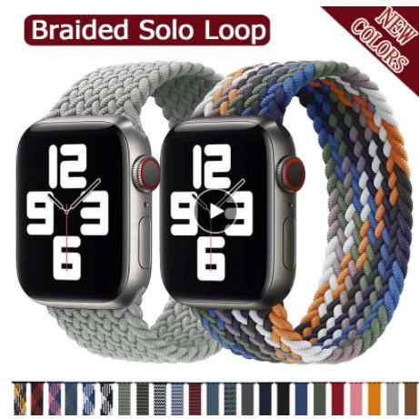 สายนาฬิกาข้อมือไนล่อน 2020 สําหรับ Apple Watch Band 44 มม. 40 มม. 38 มม. 42 มม. สําหรับ Iwatch Series 6 Se 5 4 3
