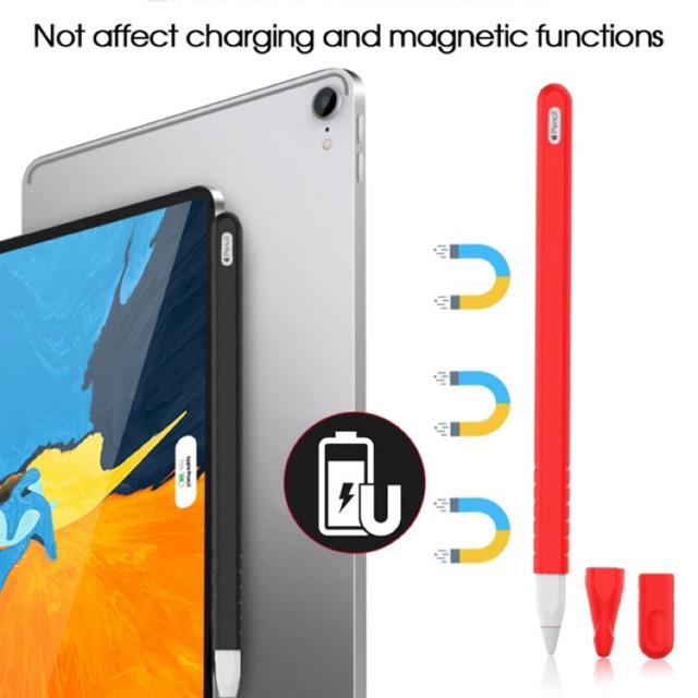 ชุดซิลิโคน Apple Pencil 2nd Generation 3ชิ้นใน 1 แพ็ค (Apple Pencil 2 nd Silicone Protective Case 3 in 1