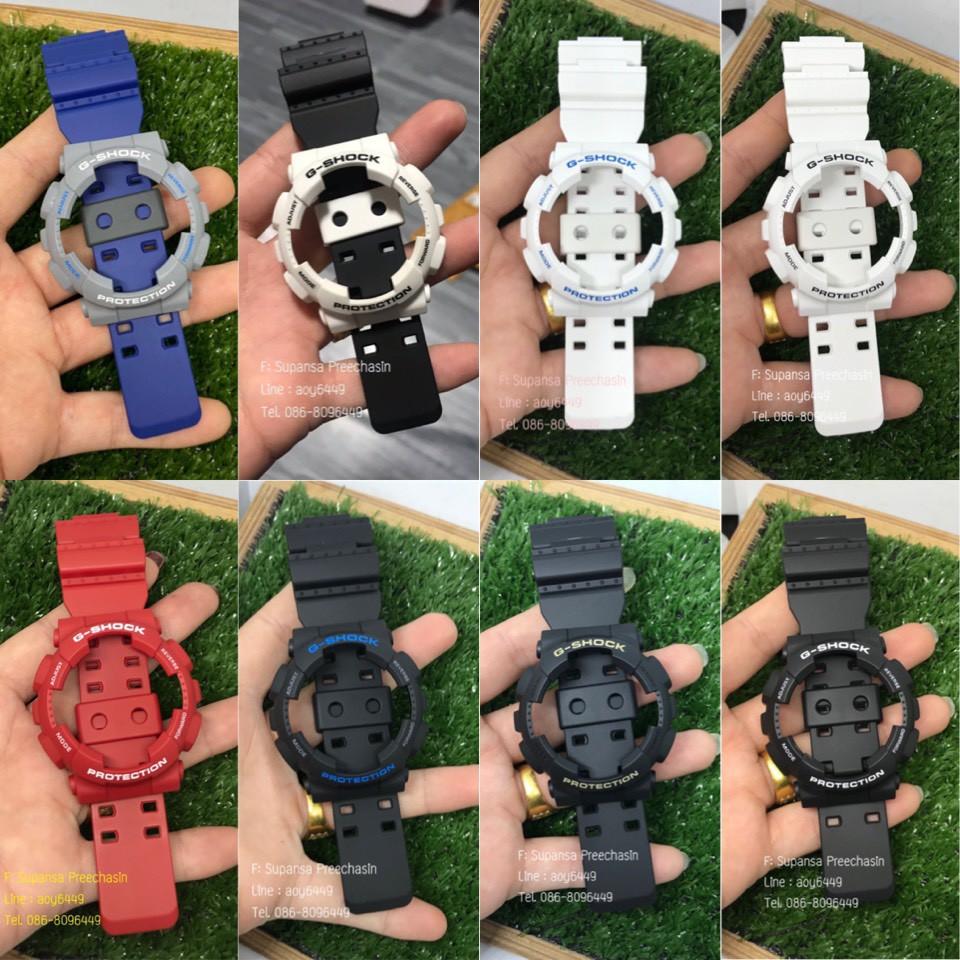 สาย applewatch แท้ สาย applewatch กรอบสาย G-Shock ของแท้ 100% Set 3 รุ่น GA-100/Ga-110/ Ga-120/GD100