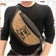 กระเป๋า coach กระเป๋าสะพายข้าง sling bag