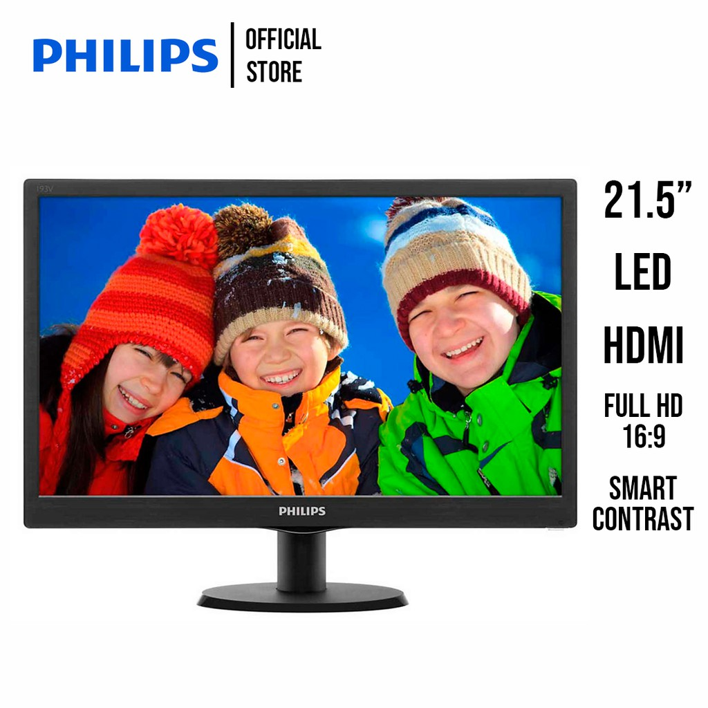 Philips LCD Monitor with SmartControl Lite 21.5