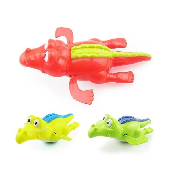BABYWORLD 🔥ตุ๊กตาว่ายน้ำ รูปจระเข้ ของเล่นสำหรับเด็ก