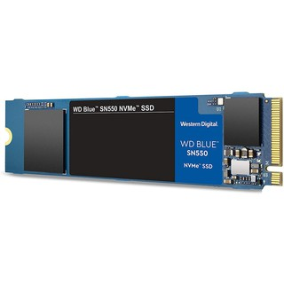 WD BLUE SN550 1TB SSD NVMe M.2 2280 (WDS100T2B0C) (MS6-119) Internal Solid State Drive