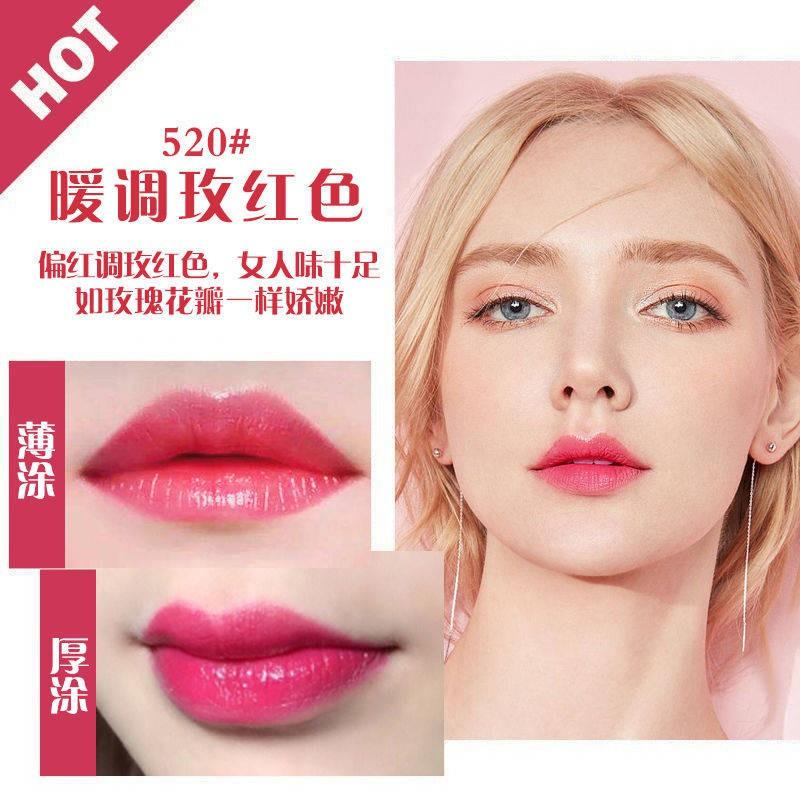ลิปสติก ของแท้ Dior Dior Manny Lipstick 999 Matte 520 ลิปสติก Moisturizing Moisturizing ไม่จางหายสำหรับกล่องของขวัญแฟน