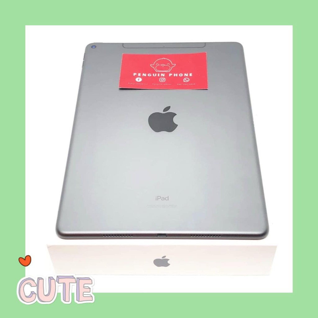 iPad Air 3 64GB Cell สี Space Gray มือสอง สภาพ 99.99% [ไอแพด ไอแพดมือสอง ไอแพดราคาถูก iPad iPadมือสอง มือ2 ราคาถูก]