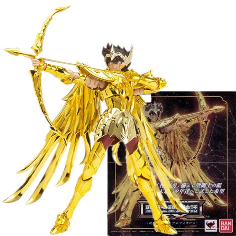 Bandai Anime Saint Seiya Myth Cloth Soul of God Sagittarius18cm Action Figure Doll ModeltoysCollection Gifts
