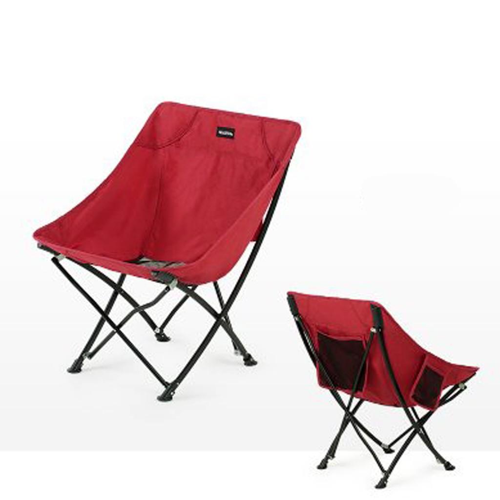 NatureHike เก้าอี้พับแบบพกพา รับน้ำหนัก 240 กิโลกรัม
