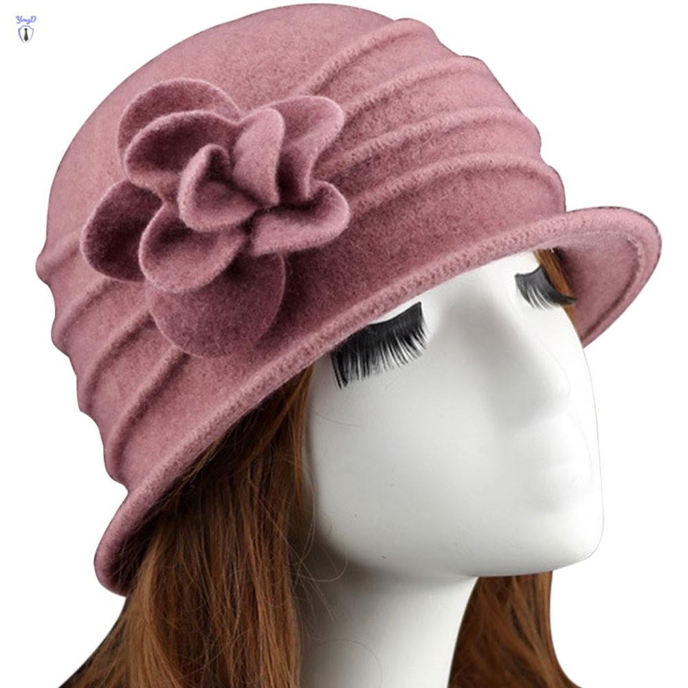 Women/'s Floppy Wool Hat