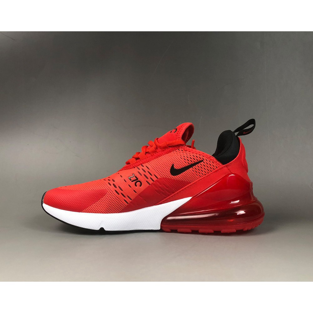 A164 Available Nike Air Max 270 Habanero RedBlack White Challenge Red