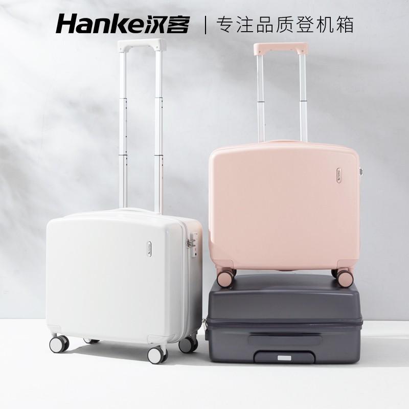 กระเป๋าเดินทางน้ำหนักเบา 18 นิ้วหญิง 16 กระเป๋าเดินทางรถเข็น 20 มินิกระเป๋าเดินทางขนาดเล็กน่ารักเครื่องบินสามารถบรรทุก