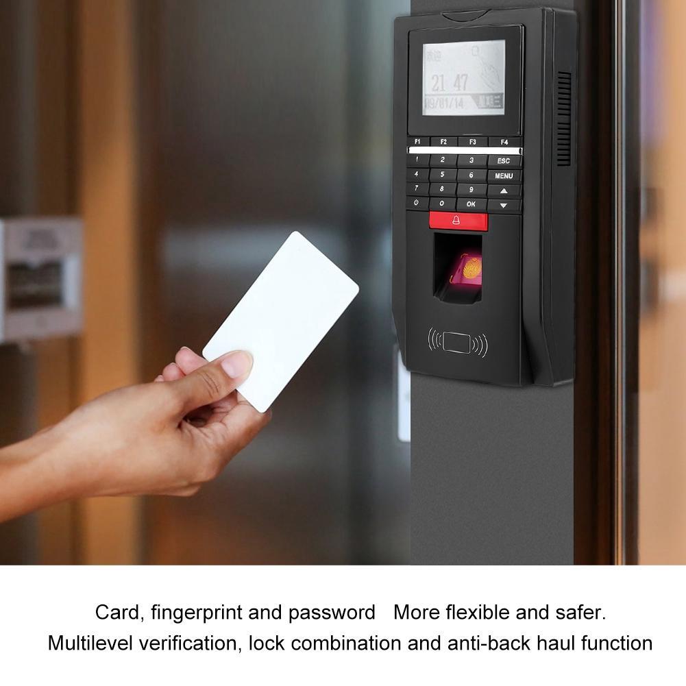 Allinit ZD2F20 Biometric Fingerprint Password ID Card Attendance Machine  Access Control With TCP/IP