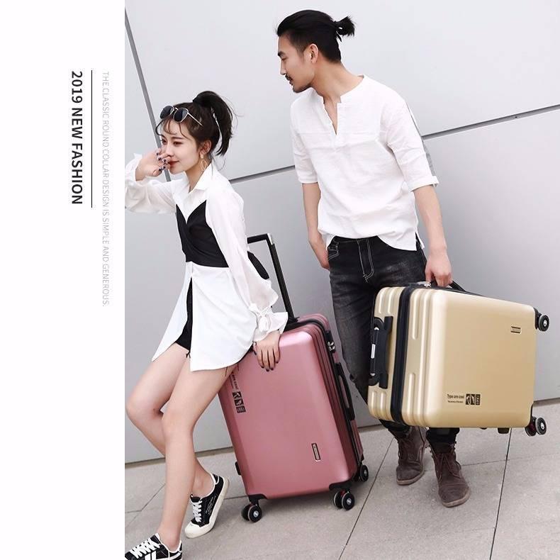 กระเป๋าเดินทางแฟชั่นเกาหลีสตรี 20/24/26 นิ้ว
